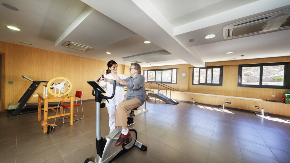 Large fully equipped gym